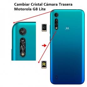 Cambiar Cristal Cámara Trasera Motorola G8 Lite