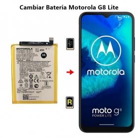 Cambiar Batería Motorola G8 Lite