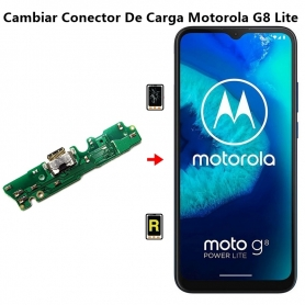 Cambiar Conector De Carga Motorola G8 Lite