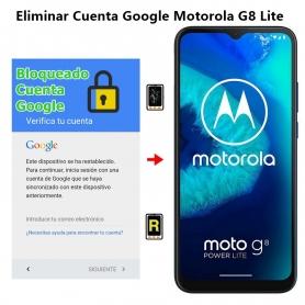 Eliminar Cuenta Google Motorola G8 Lite