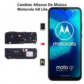 Cambiar Altavoz De Música Motorola G8 Lite