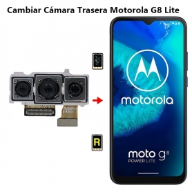 Cambiar Cámara Trasera Motorola G8 Lite