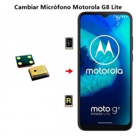 Cambiar Micrófono Motorola G8 Lite