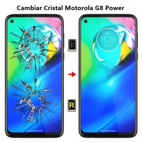 Cambiar Cristal Motorola G8 Power