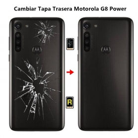 Cambiar Tapa Trasera Motorola G8 Power