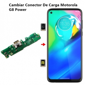 Cambiar Conector De Carga Motorola G8 Power