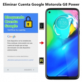 Eliminar Cuenta Google Motorola G8 Power