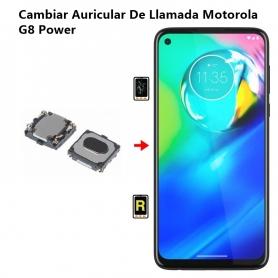 Cambiar Auricular De Llamada Motorola G8 Power