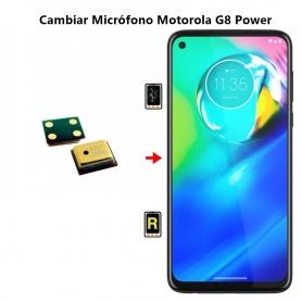 Cambiar Micrófono Motorola G8 Power
