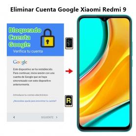 Eliminar Cuenta Google Xiaomi Redmi 9