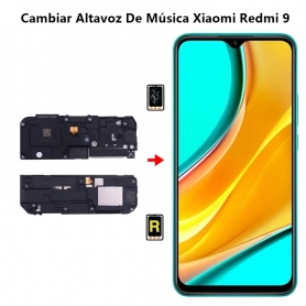 Cambiar Altavoz De Música Xiaomi Redmi 9