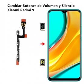 Cambiar Botones de Volumen y Silencio Xiaomi Redmi 9