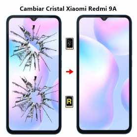 Cambiar Cristal Xiaomi Redmi 9A