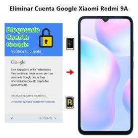 Eliminar Cuenta Google Xiaomi Redmi 9A
