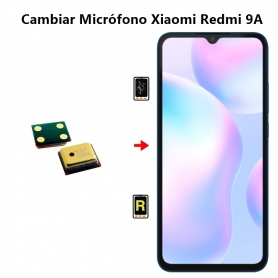 Cambiar Micrófono Xiaomi Redmi 9A