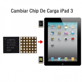 Cambiar Chip De Carga iPad 3