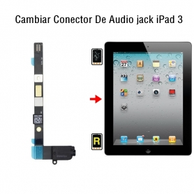 Cambiar Conector De Audio jack iPad 3