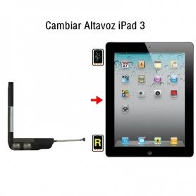 Cambiar Altavoz iPad 3