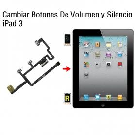 Cambiar Botones De Volumen y Silencio iPad 3