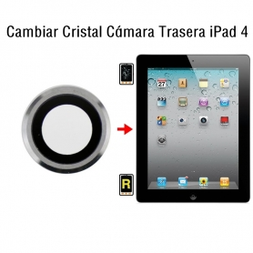 Cambiar Cristal Cámara Trasera iPad 4