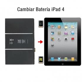 Cambiar Batería iPad 4