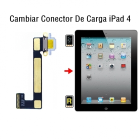 Cambiar Conector De Carga iPad 4