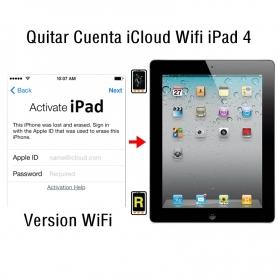 Quitar Cuenta iCloud Wifi iPad 4