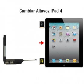 Cambiar Altavoz iPad 4