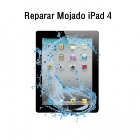 Reparar Mojado iPad 4