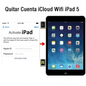 Quitar Cuenta iCloud Wifi iPad 5