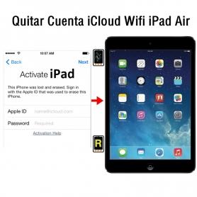 Quitar Cuenta iCloud Wifi iPad Air
