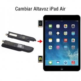 Cambiar Altavoz iPad Air