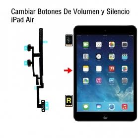 Cambiar Botones De Volumen y Silencio iPad Air