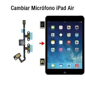 Cambiar Micrófono iPad Air