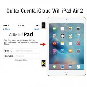 Quitar Cuenta iCloud Wifi iPad Air 2