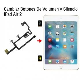 Cambiar Botones De Volumen y Silencio iPad Air 2