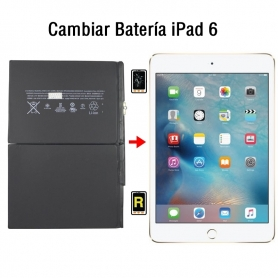 Cambiar Batería iPad 6