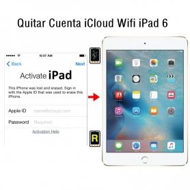 Quitar Cuenta iCloud Wifi iPad 6