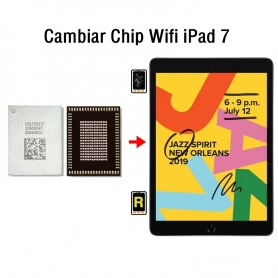 Cambiar Chip Wifi iPad 7