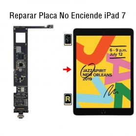 Reparar Placa No Enciende iPad 7