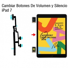 Cambiar Botones De Volumen y Silencio iPad 7
