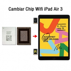 Cambiar Chip Wifi iPad Air 3