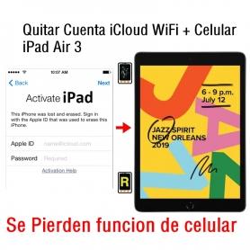 Quitar Cuenta iCloud WiFi + Celular iPad Air 3