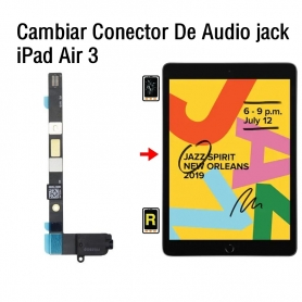 Cambiar Conector De Audio jack iPad Air 3