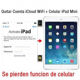 Quitar Cuenta iCloud WiFi + Celular iPad Mini