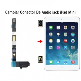 Cambiar Conector De Audio jack iPad Mini