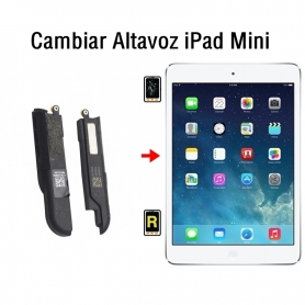 Cambiar Altavoz iPad Mini
