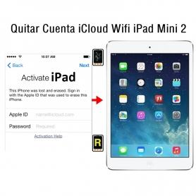 Quitar Cuenta iCloud Wifi iPad Mini 2