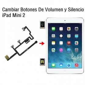 Cambiar Botones De Volumen y Silencio iPad Mini 2