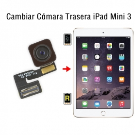 Cambiar Cámara Trasera iPad Mini 3